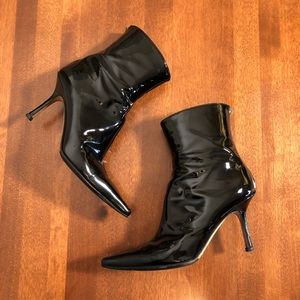 **SALE** JIMMY CHOO | Vintage black ankle boot